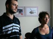 """Nowymi twarzami w ekipie dochodzeniowej są Robert """"Łapka"""" (Michał Żurawski) i Renata (Hanna Konarska) (fot. TVP)"""