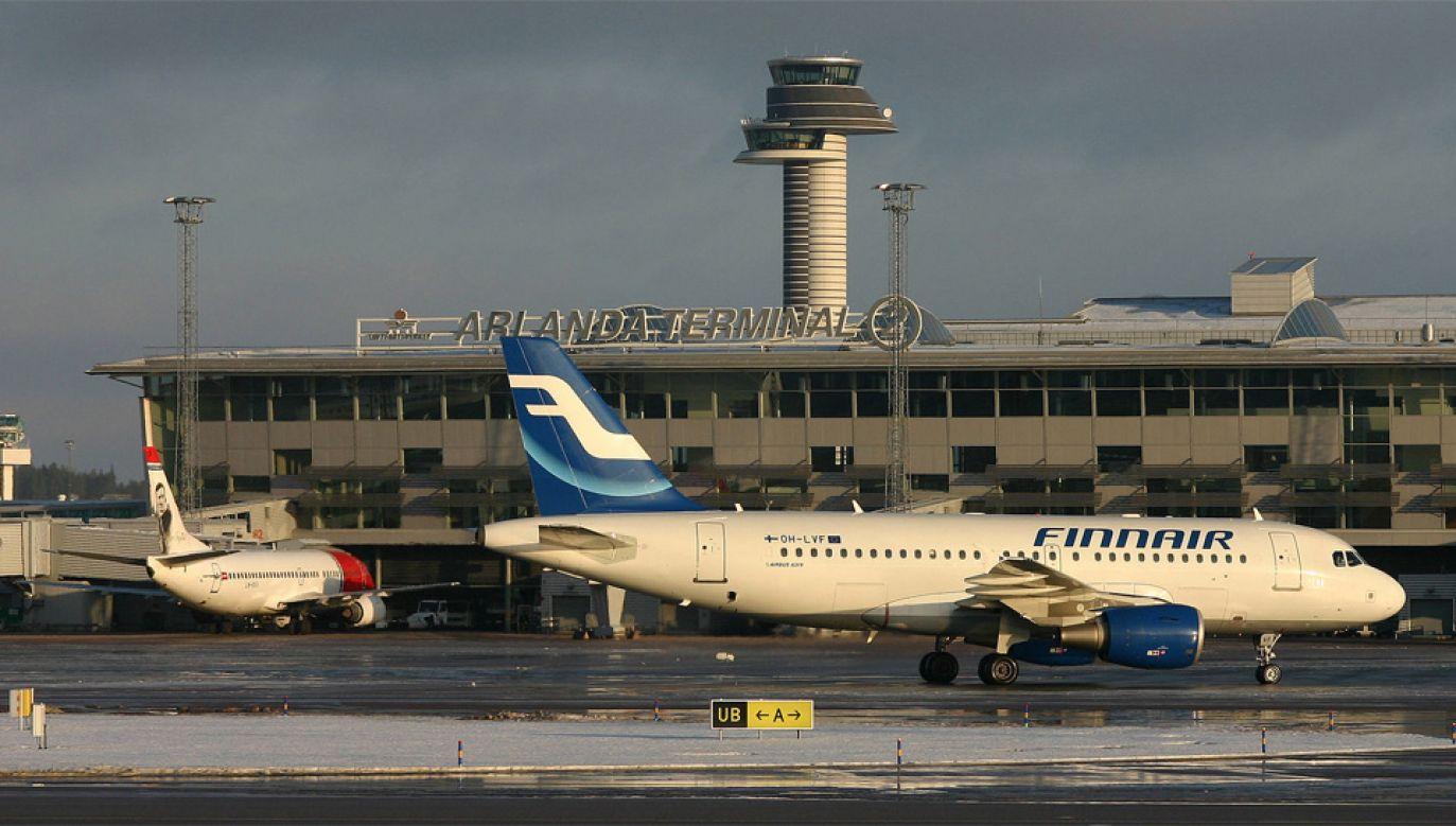 Pasażer chciał odlecieć z lotniska Arlanda do Egiptu (fot. Wiki/Stefan Sjögren)