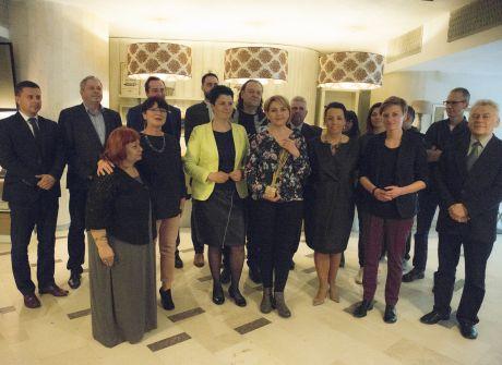 Uroczyste posiedzenie Rady Programowej TVP3 Kielce i wręczenie nagród dla dziennikarzy