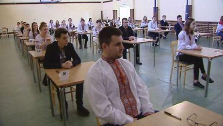 Egzamin po ukraińsku. Wtorek ostatnim dniem pisemnych matur