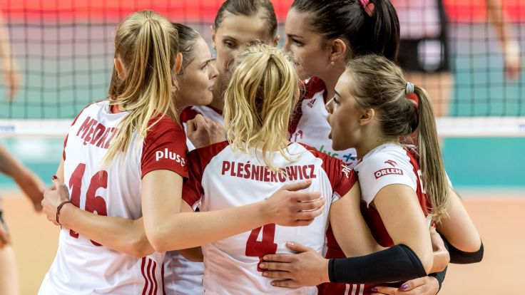 Siatkarki reprezentacji Polski (fot. PAP)