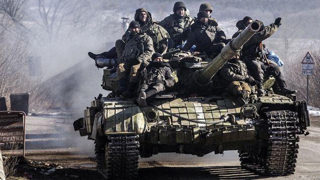 Rosjanie przekształcili Krym w bazę wojskową? (fot. Anadolu Agency/Contributor/Getty Images)