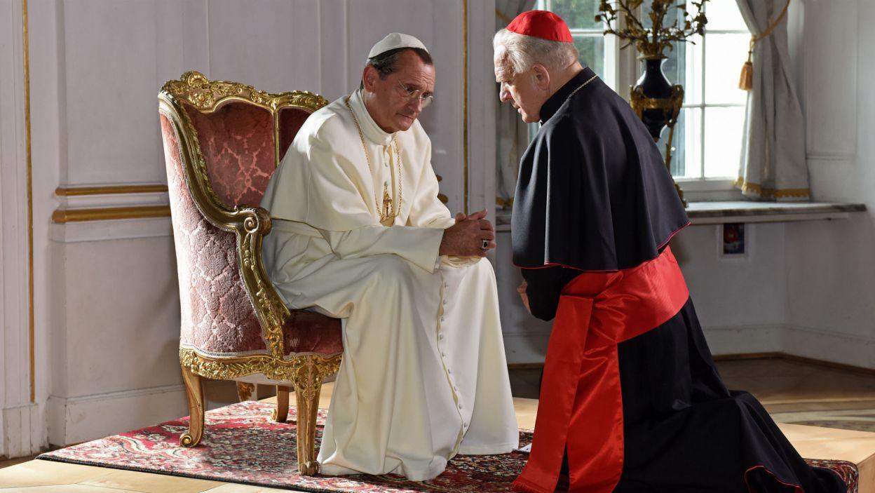 W Watykanie zabiegał o sprawy polskie u papieża Piusa XII, którego zagrał Wojciech Wysocki (fot. Agata Ciołek)