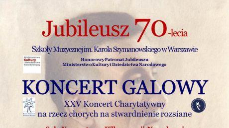 Jubileusz 70-lecia Szkoły Muzycznej im. Karola Szymanowskiego