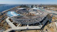 Wołgograd Arena. Pojemność: 45 568. Rok otwarcia: w budowie (na terenie dawnego Stadionu Centralnego). Klub: Rotor Wołgograd (fot. Getty, sierpień 2017)