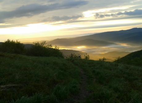 Wielka Rawka - wschód słońca