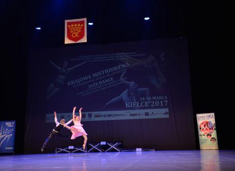 Krajowe Mistrzostwa International Dance Organization - Jezz Dance, Kielce 25.03.2017 r