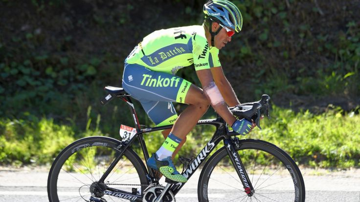 Alberto Contador (fot. Getty Images)