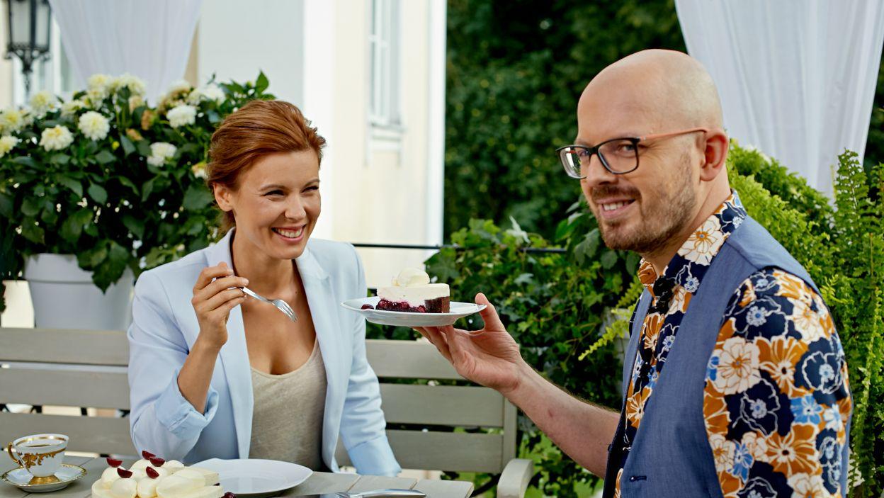 Czyj tort wygrał tę konkurencję? (fot. TVP)