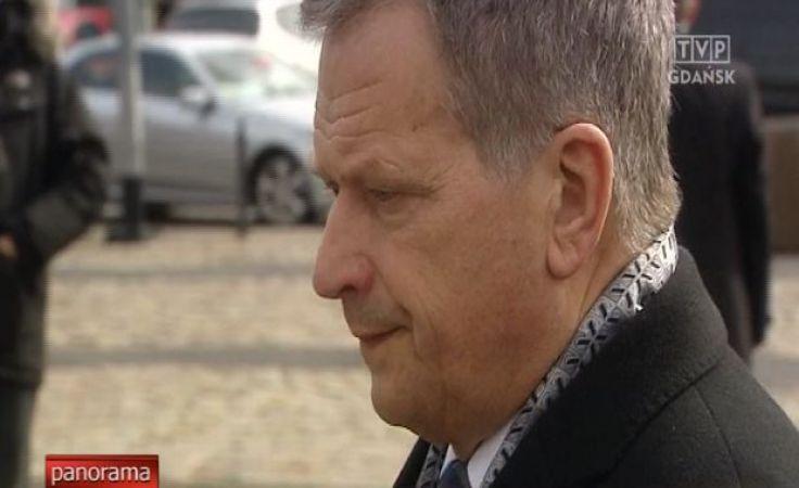Prezydent Finlandii z wizytą w Gdańsku