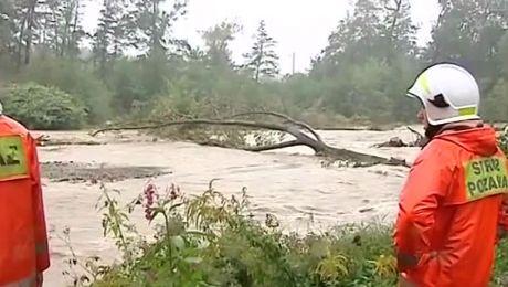 Powodzie w Małopolsce