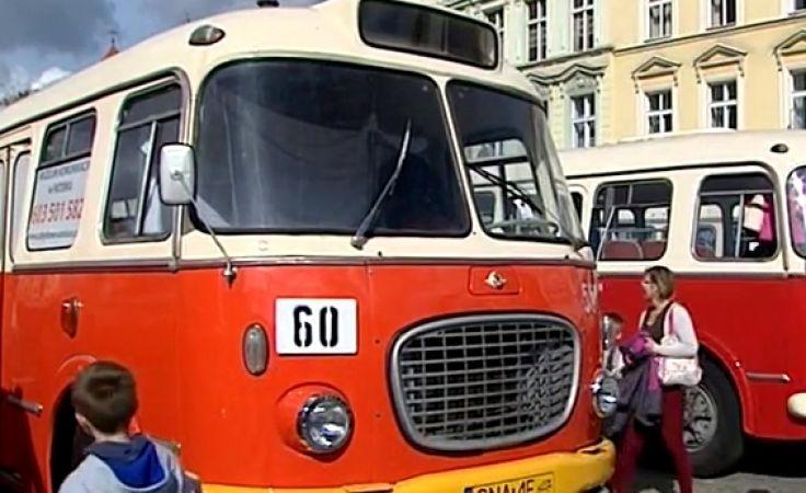 Parada autobusów na 80-lecie bydgoskiej komunikacji miejskiej