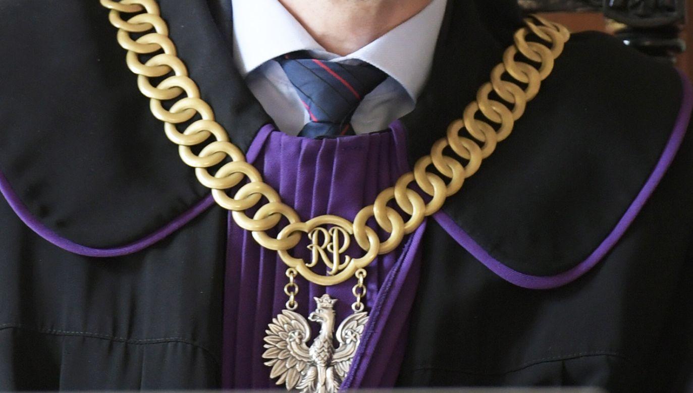 W TVP Info o reformie sądownictwa (fot.  PAP/Adam Warżawa)