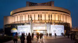 Uroczyste otwarcie festiwalu Camerimage odbyło się w budynku Opera Nova w Bydgoszczy (fot. PAP)
