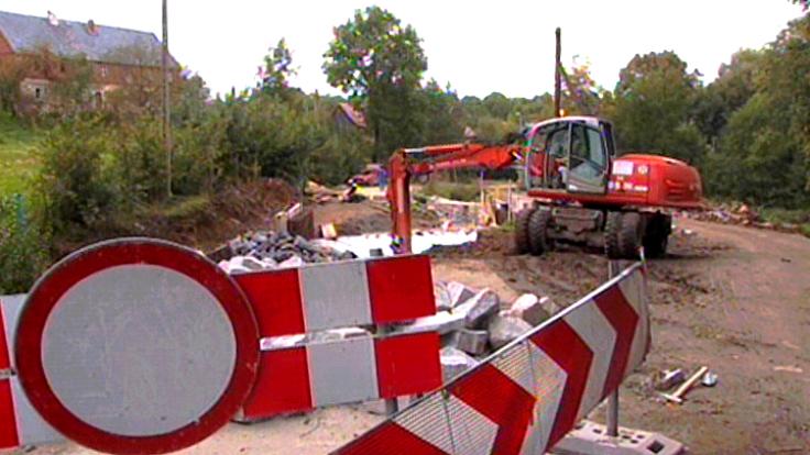 We wsi Stankowice żywioł zniszczył m.in. 4 km drogi