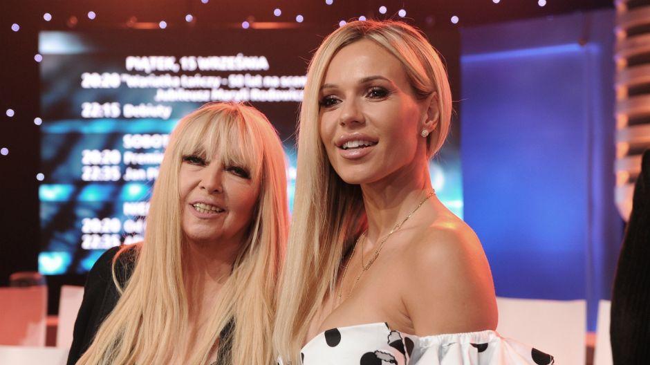 Dorota Rabczewska nie ukrywa, że Maryla Rodowicz jest jej bardzo dobrą koleżanką ze sceny (fot. Natasza Młudzik/TVP)