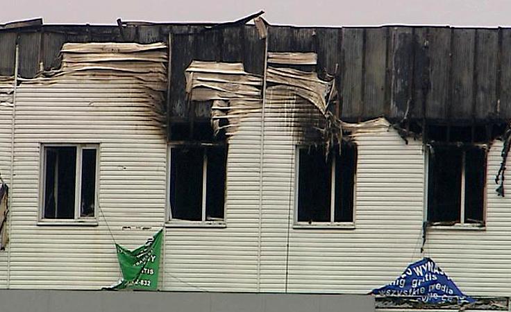 Spalony salon i próba ratowania miejsc pracy