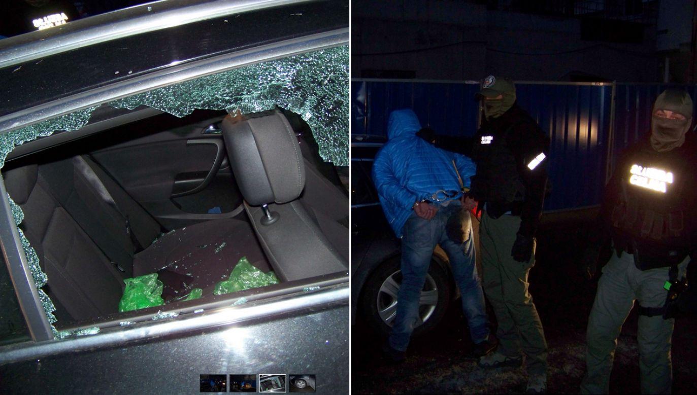 Ustalono, że członkowie gangu odbarwiali olej opałowy z Niemiec i wprowadzali go nielegalnie do obrotu jako olej napędowy (fot. lodzkie.kas.gov.pl)