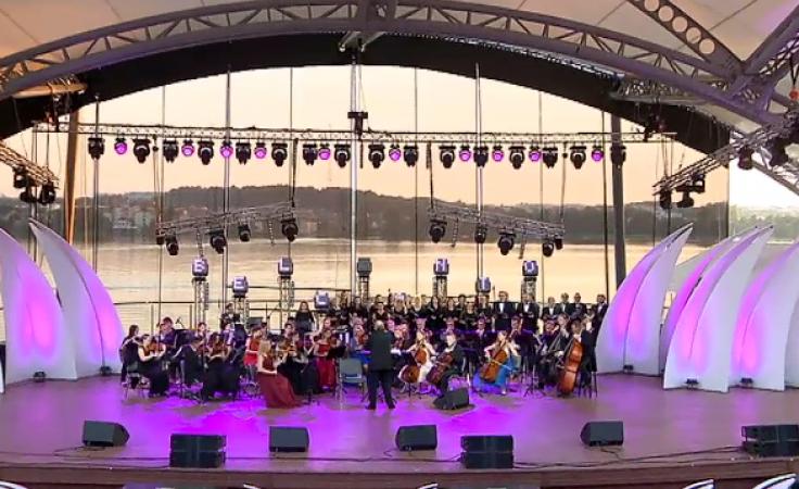 Święto opery na Mazurach. Wystąpili artyści znani ze scen całego świata