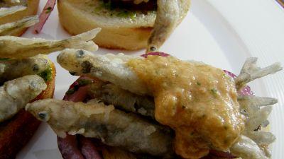 Okrasa łamie przepisy - Rybne kanapki