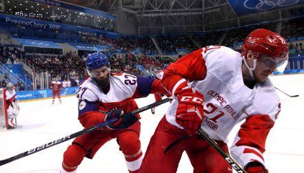 Półfinał igrzysk: Czechy – Olimpijczycy z Rosji 0:3. Zobacz gole