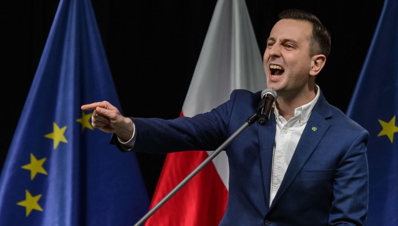 Prezes PSL Władysław Kosiniak-Kamysz podczas Krajowej Konwencji Samorządowej PSL (fot. PAP/Wojciech Pacewicz)