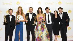 """Tak jak w poprzednim roku, najważniejsze nagrody zdobył """"Breaking bad"""", nagrodzony również za najlepszy serial dramatyczny (fot. PAP/EPA)"""