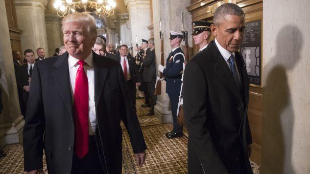 Barack Obama zlecił inwigilację prezydenta elekt Donald Trumpa? (fot. J. Scott Applewhite/Pool/AP/Anadolu Agency/Getty Images)