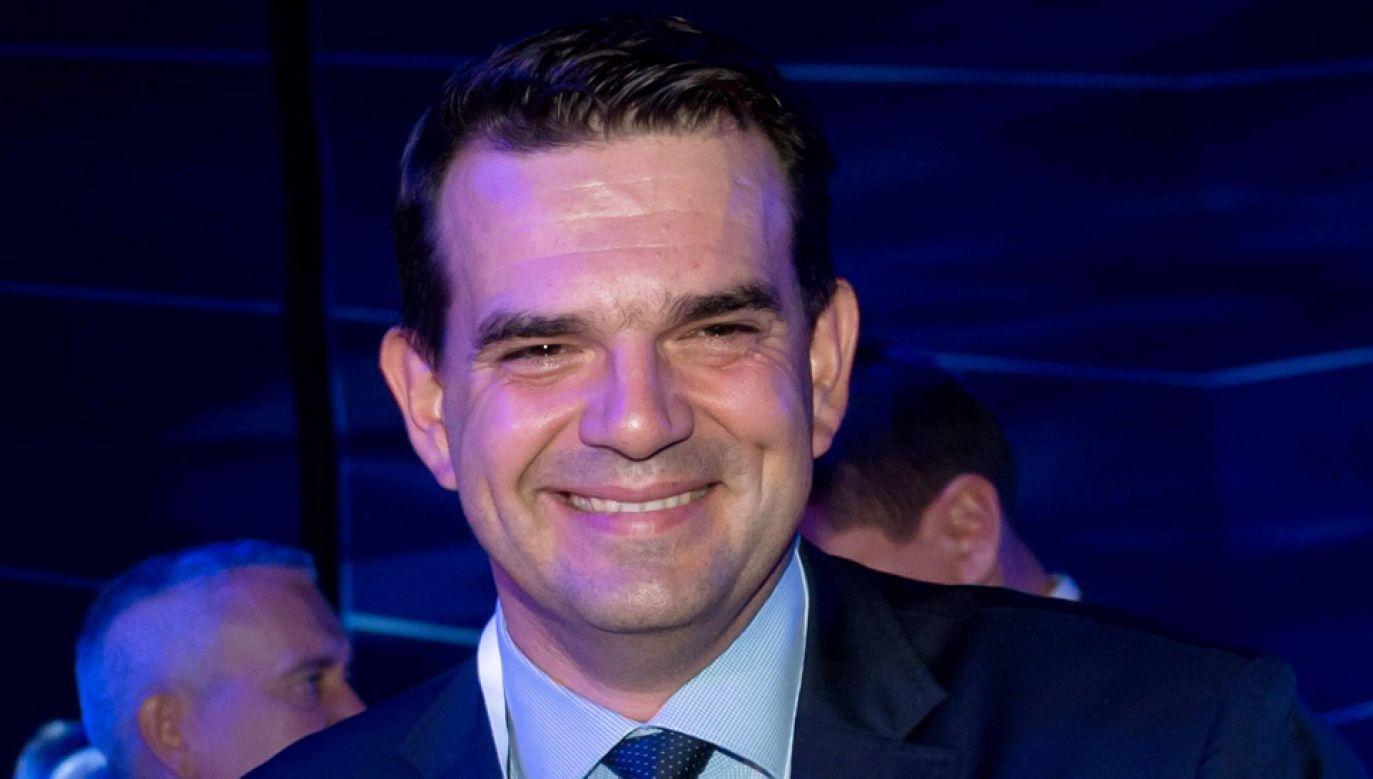 Poseł Jacek Tomczak jest przeciwnikiem aborcji (fot. PAP/Jakub Kaczmarczyk)