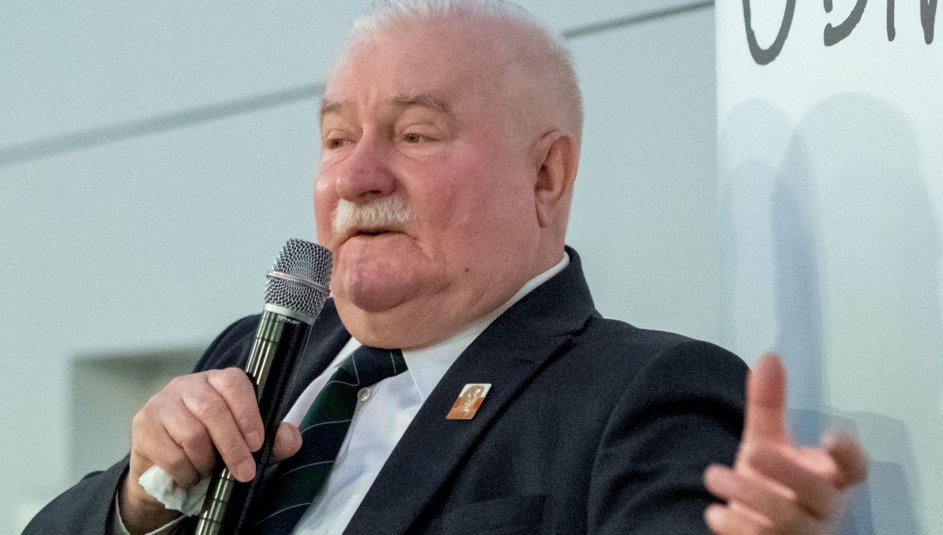 Były prezydent  Lech Wałęsa (fot. PAP/Andrzej Grygiel)
