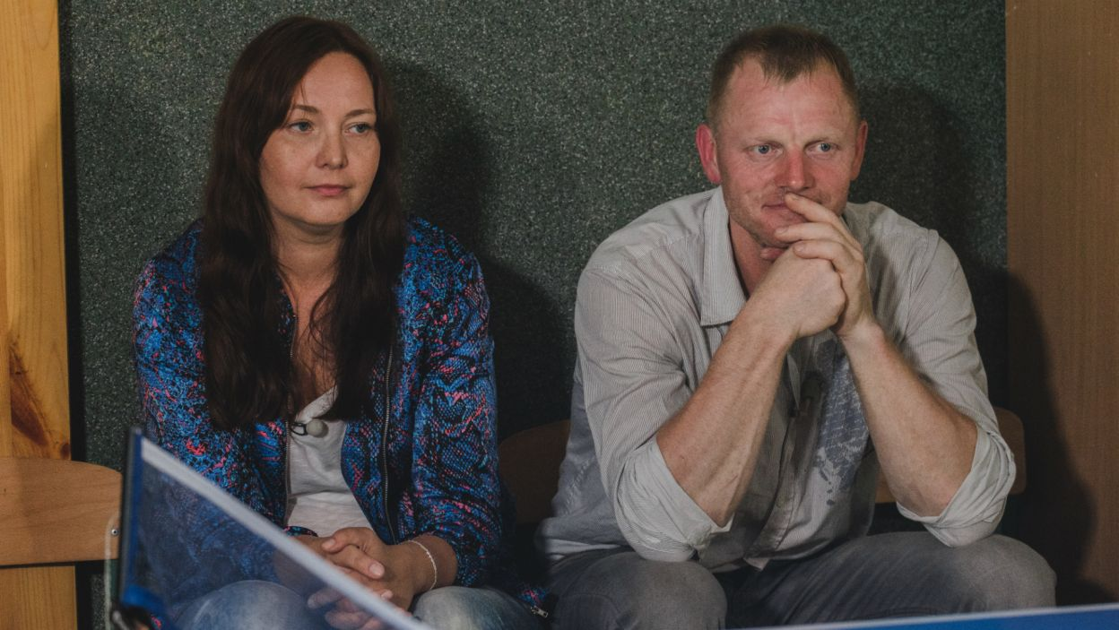 Nie wszystkim spodobał się ten pomysł. Joasia miała za złe mężczyźnie, że nie interesuje się ich pasjami (fot. TVP)