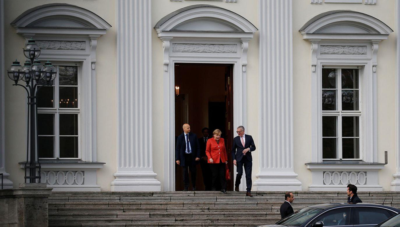 Kanclerz Niemiec Angela Merkel (fot. REUTERS/Axel Schmidt)