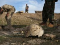 Masowy grób w Iraku. Za mordami stoi Państwo Islamskie