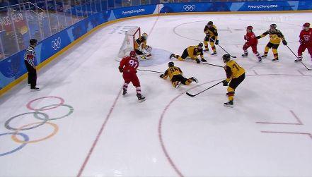 Olimpijczycy z Rosji – Niemcy 2:1 (gol Gusiewa)
