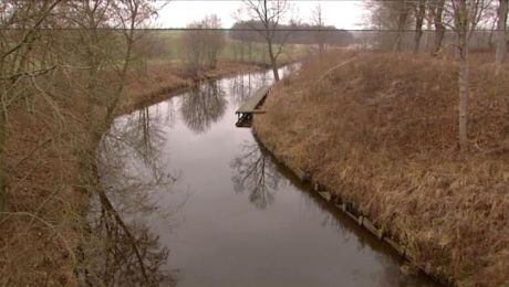 Kanał Dobrzycki został zbudowany w latach 1331-1334
