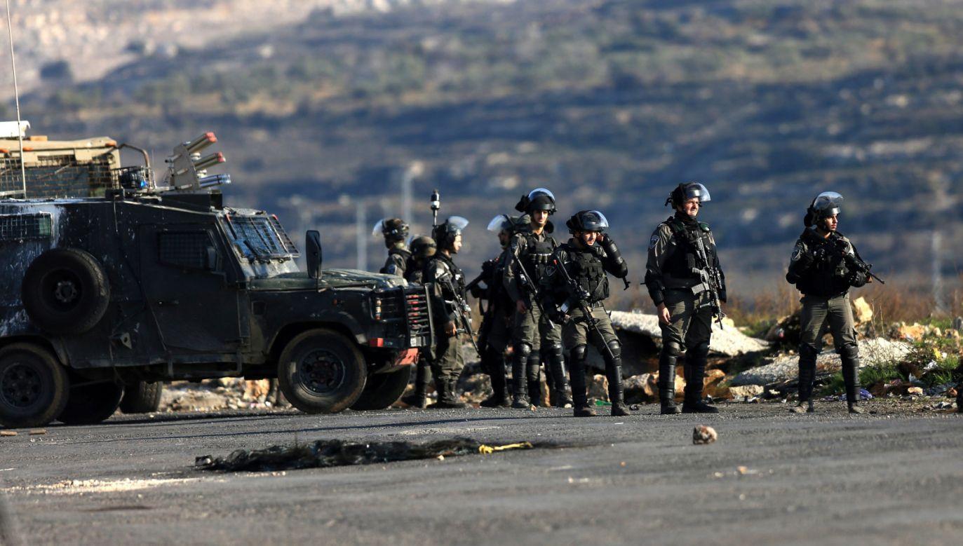 Napięcie między Izraelem a Strefą Gazy wzrosło po grudniowej decyzji prezydenta USA o uznaniu Jerozolimy (fot. PAP/EPA/ALAA BADARNEH)