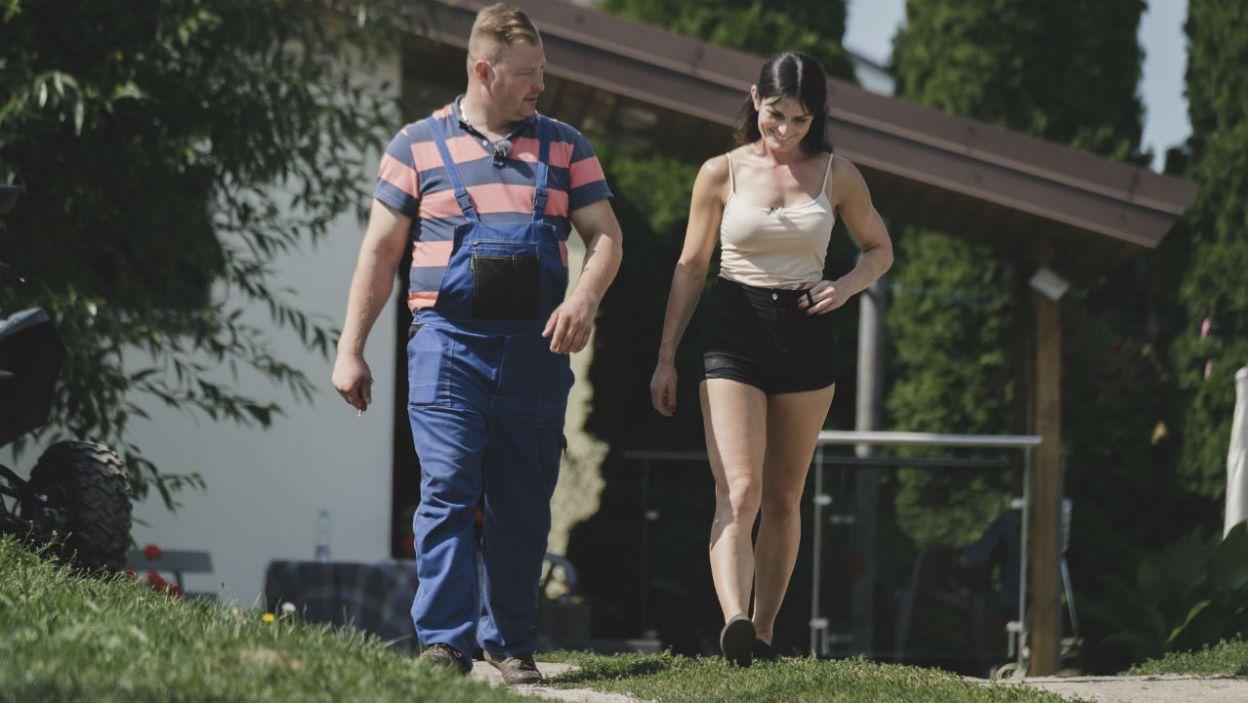 – To jest nasza randka już? – zaczepnie pyta Paulina (fot. TVP)