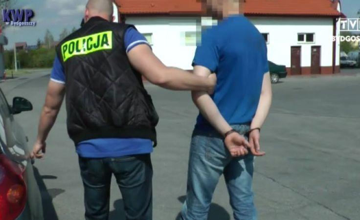 Policja zatrzymała 17-latka, gdy uciekał po napadzie na bank na Bartodziejach