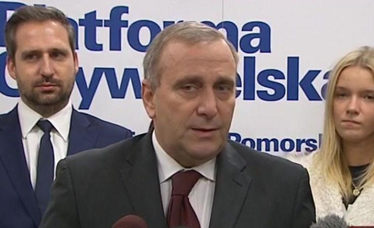 Schetyna nad Brdą komentuje wydarzenia w Sejmie