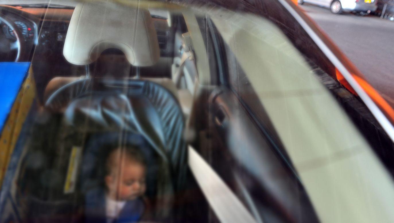 Niemowlę zmarło w samochodzie (fot. Shutterstock/ChameleonsEye)