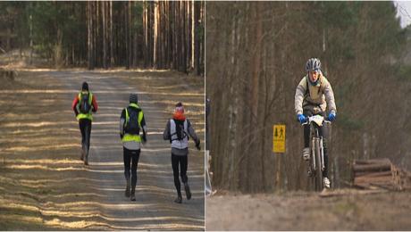 Prawie 650 biegaczy i rowerzystów okrążyło miasto