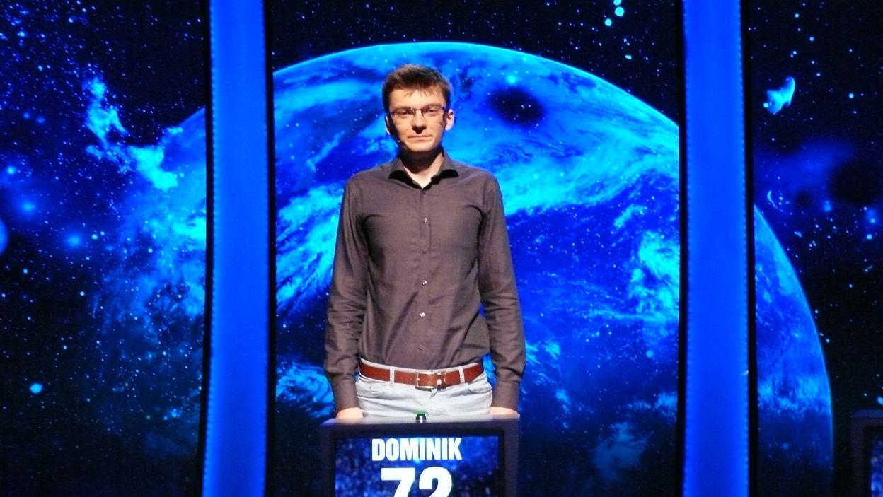 Dominik Wasiluk - zwycięzca 14 odcinka 100 edycji