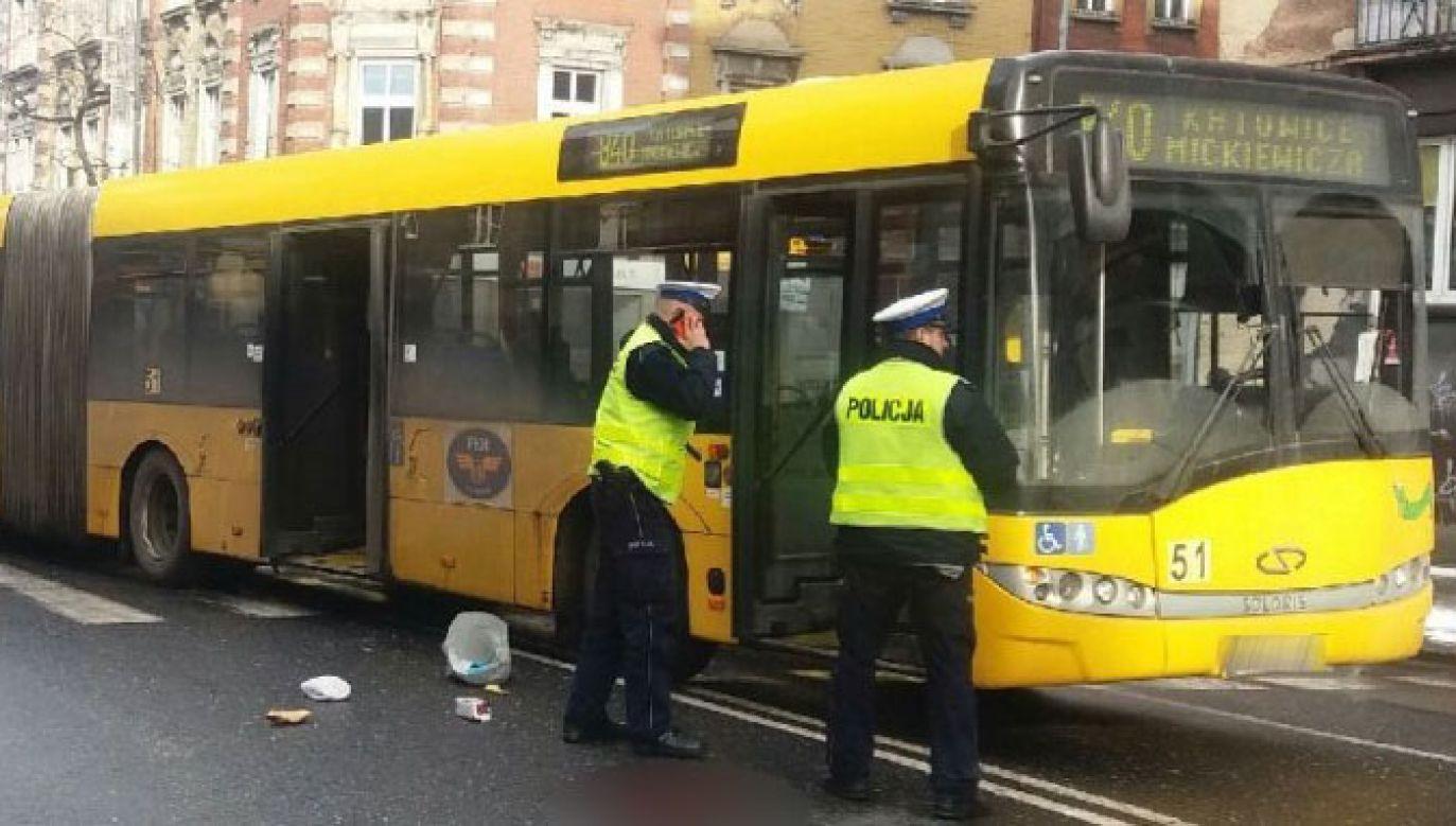Do wypadku doszło w czwartek w Zabrzu (fot. Policja Śląska)