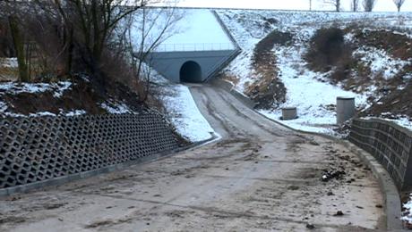 Oddano do użytku drogę z Garnizonu na wojskowy plac ćwiczeń