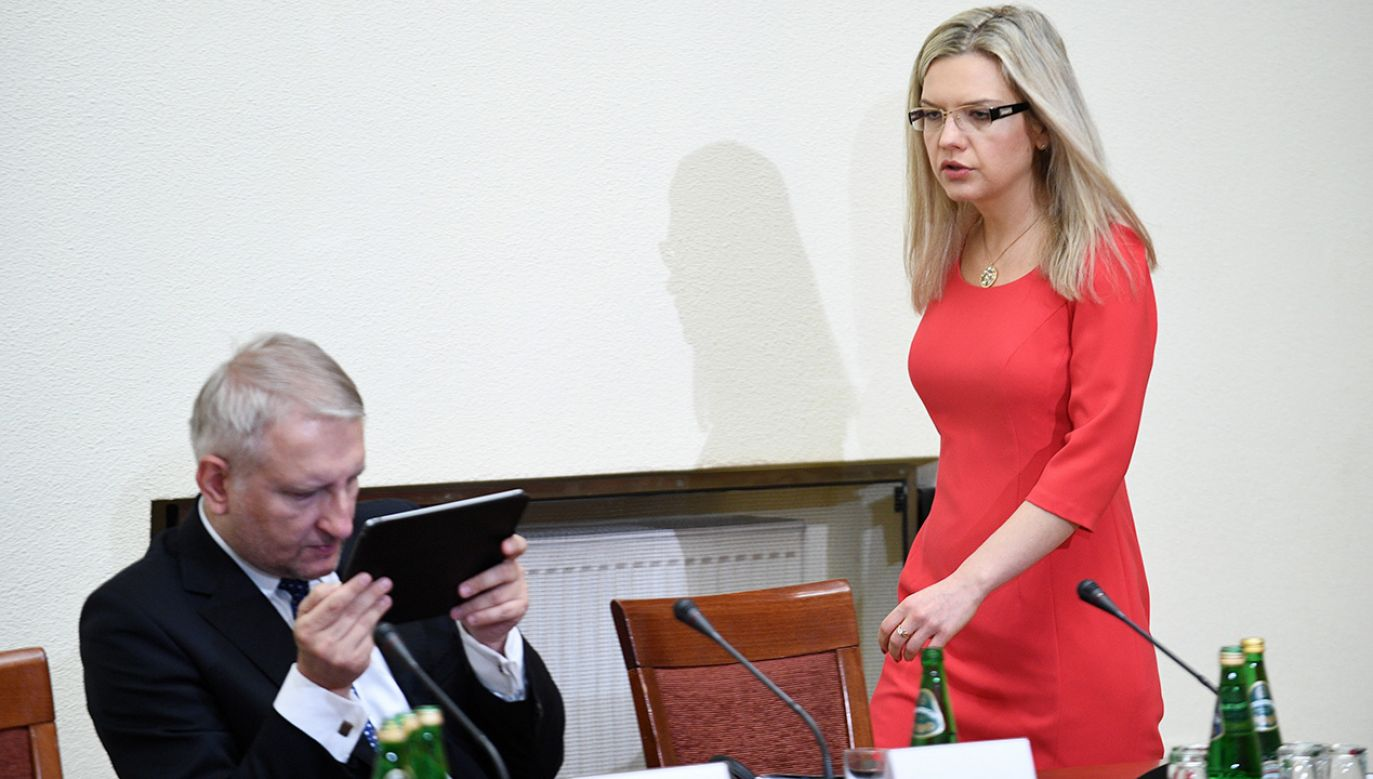 Małgorzata Wassermann przekonuje, że Donald Tusk robi z siebie męczennika (fot.  PAP/Jacek Turczyk)