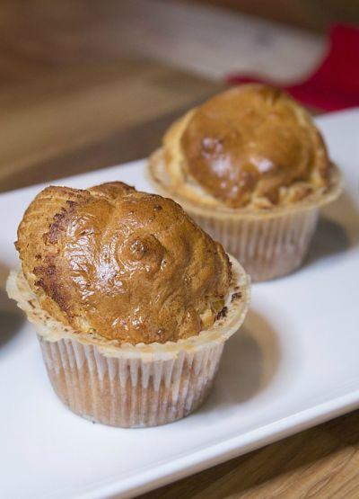 Muffiny łososiowe z chrzanem