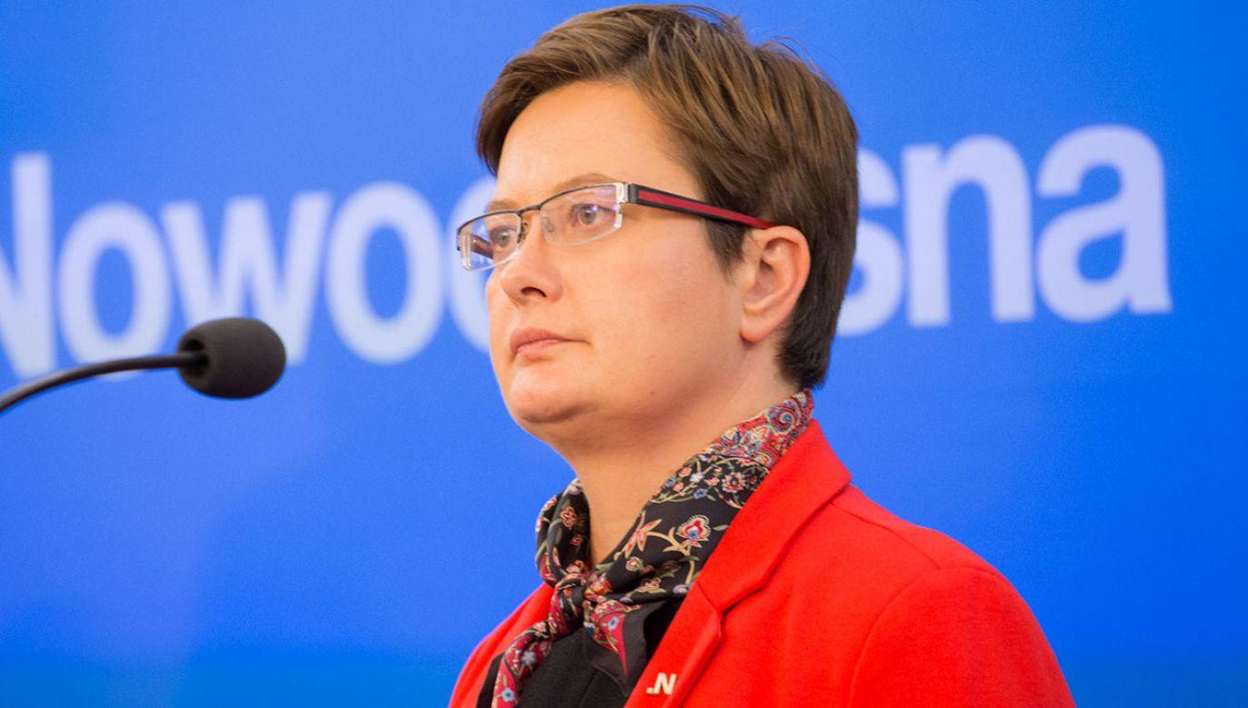 Katarzyna Lubnauer jest obecnie Przewodniczącą Klubu Poselskiego Nowoczesnej (fot. Flickr/Nowoczesna)