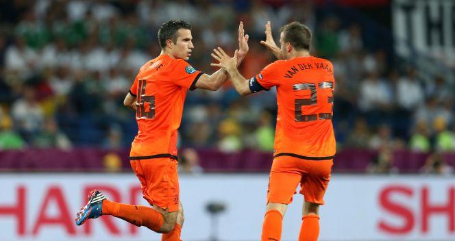 Robin van Persie dał nadzieję Pomarańczowym (fot. Getty Images)