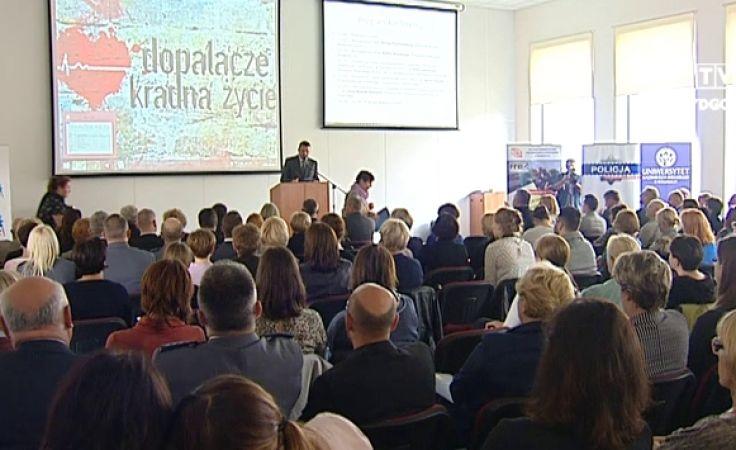 Konferencja odbyła się w sali konferencyjnej Biblioteki UKW