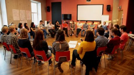 Swój przyjazd na Warmię i Mazury zapowiedziała młodzież w wieku od 16 do 19 lat z 21 krajów Europy (fot. cbss.org)
